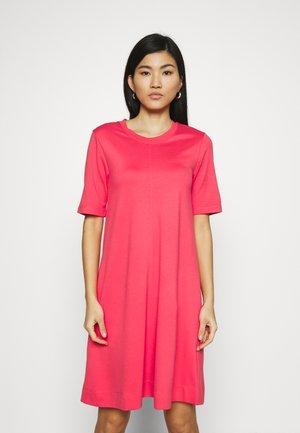 A LINE DRESS - Jersey dress - watermelon red