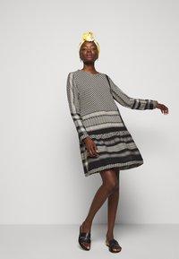 CECILIE copenhagen - DRESS - Vestito estivo - black/stone - 4