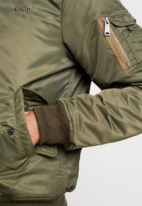 Schott - Light jacket - khaki - 6