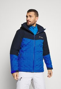 Columbia - WILD CARD JACKET - Kurtka narciarska - bright indigo/collegiate navy - 0