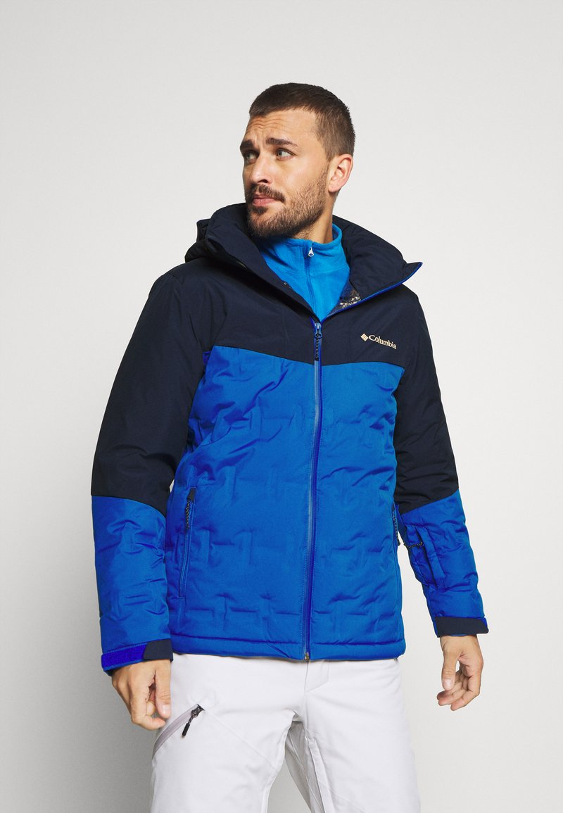 Columbia - WILD CARD JACKET - Kurtka narciarska - bright indigo/collegiate navy