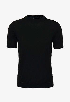 TURTLE NECK - Camiseta básica - nero
