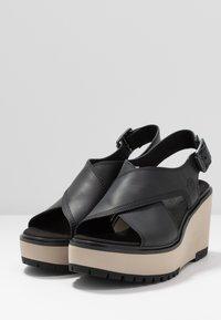Timberland - KORALYN CROSS BAND - High heeled sandals - black - 2