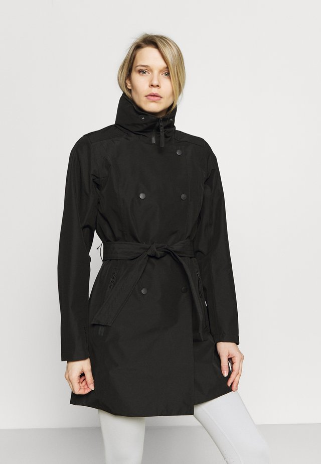 WELSEY TRENCH - Trenchcoats - black