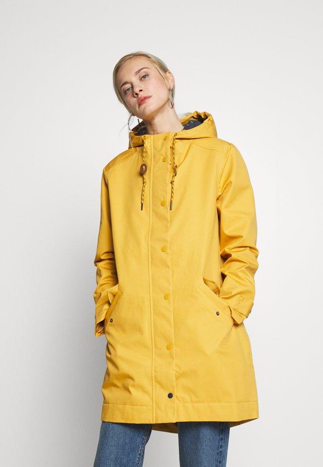 MIDDLEHAUM PLAIN RAINMAC - Sadetakki - yellow