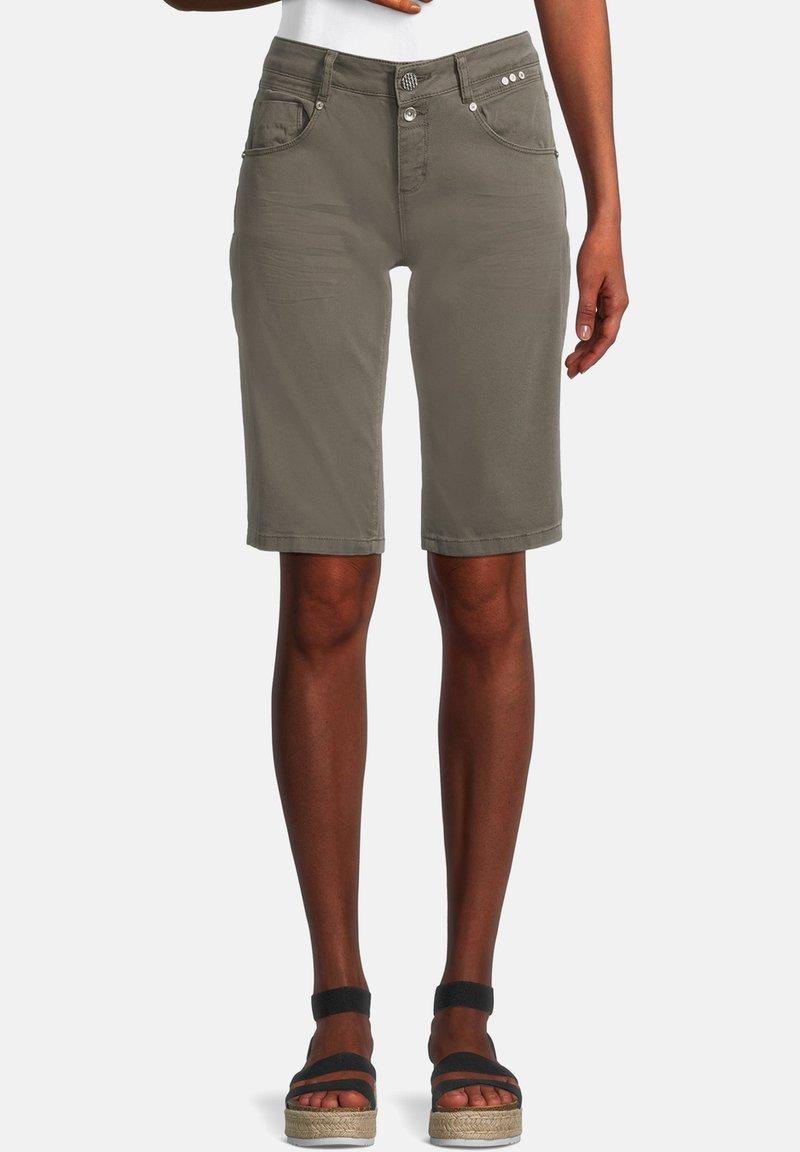 Cartoon - Denim shorts - dunkelgrün