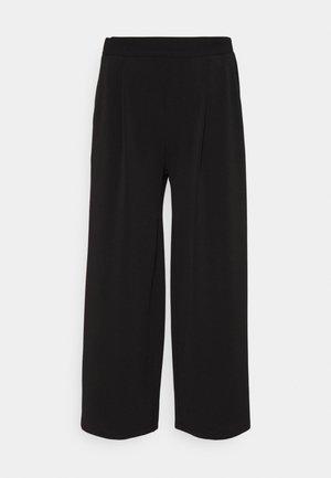 VMALBERTA CULOTTE PANT - Kalhoty - black