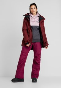 Wearcolour - FINE PANT - Skibukser - tibetan red - 1
