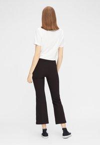 Pieces - Pantalon classique - black - 2
