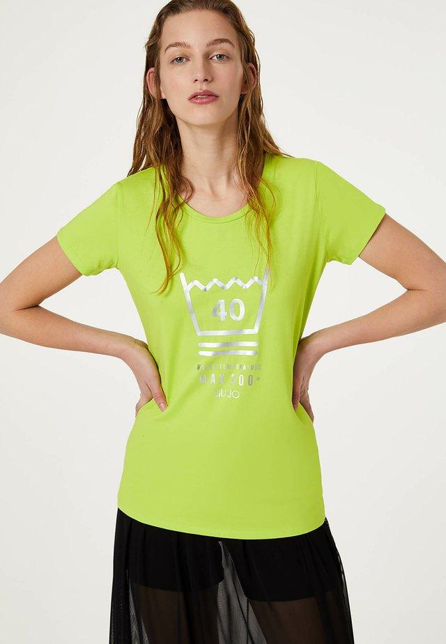 Camiseta estampada - green