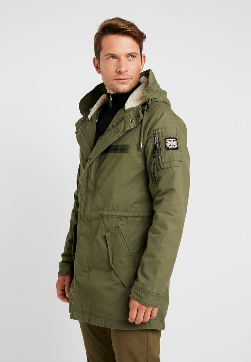 Superdry - WINTER AVIATOR  - Parka - deep depths