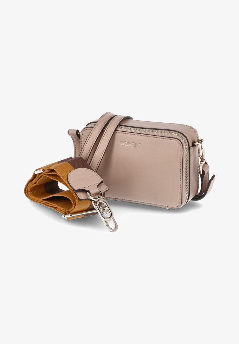 Seidenfelt - FALUN - Across body bag - beige