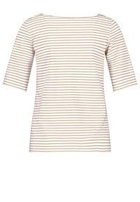 Gerry Weber - 1/2 ARM - Print T-shirt - shell/ sahara - 4