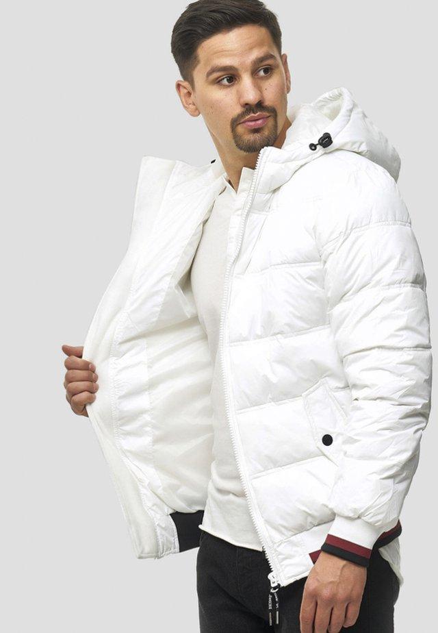 REGULAR  FIT - Winter jacket - offwhite