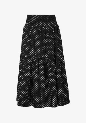 SRCATH  - A-line skirt - black