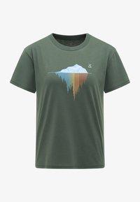 Haglöfs - Print T-shirt - fjell green - 4