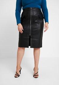 River Island Plus - Pencil skirt - black - 4