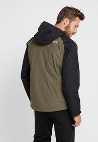 The North Face - MENS STRATOS JACKET - Kuoritakki - new taupe green/black/british khaki - 2