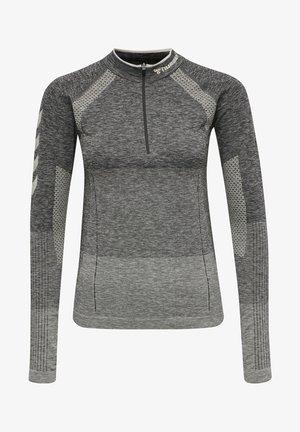 Sweatshirt - magnet melange