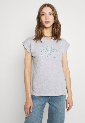 VISBY BIKETERNITY - T-shirts med print - grey melange