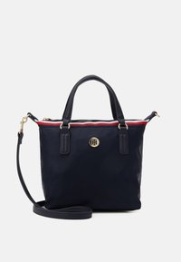 Tommy Hilfiger - POPPY SMALL TOTE CORP - Handbag - blue - 0