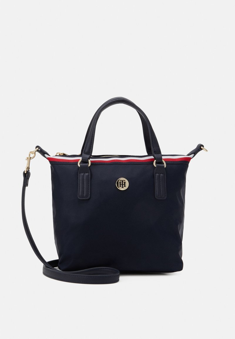 Tommy Hilfiger - POPPY SMALL TOTE CORP - Handbag - blue