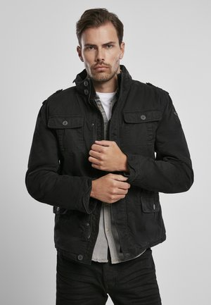 BRITANNIA  - Light jacket - black