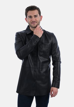 BROTHER - Leather jacket - black