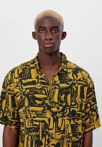 Bershka - Shirt - mustard yellow - 3