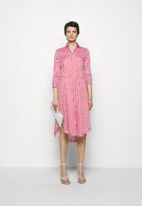 HUGO - EBIKA - Košilové šaty - open pink - 1