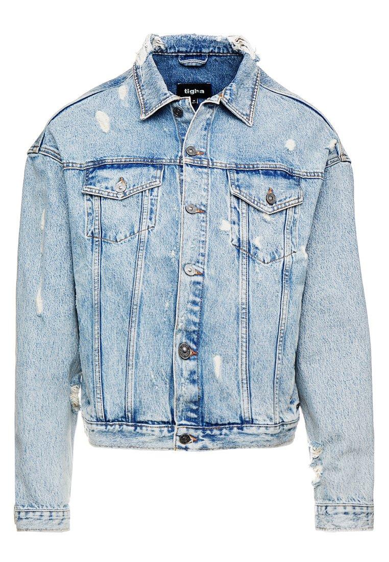 Tigha BROOKS Jeansjakke light blue Zalando.no