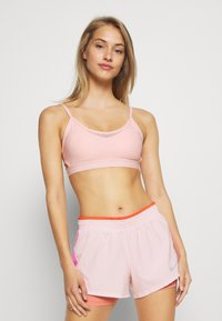 Nike Performance - INDY BRA - Sport BH - washed coral - 0