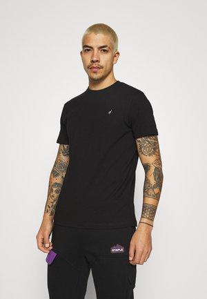 TEE UNISEX - Basic T-shirt - black