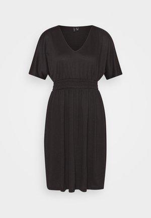 VMRITA SMOCK DRESS - Jersey dress - black