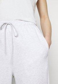 Topshop - HARLEY JOGGER - Tracksuit bottoms - pale grey - 4