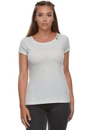 FLORAH C - Basic T-shirt - white