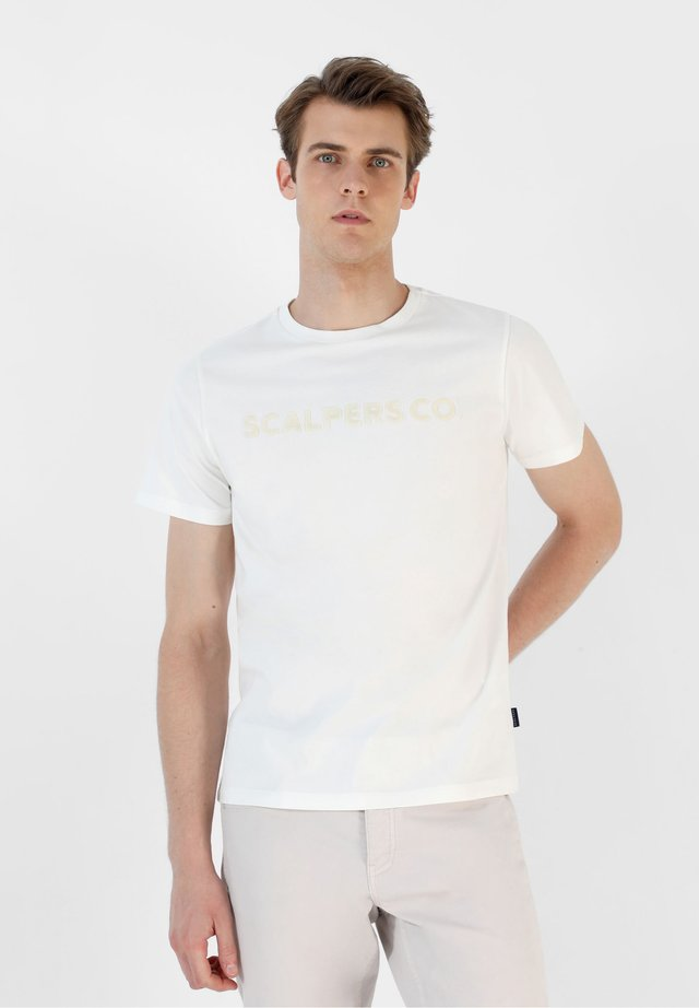 CO TEE - T-shirt con stampa - off white