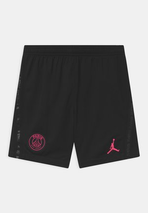 PARIS ST GERMAIN STADIUM UNISEX - Sports shorts - black/hyper pink
