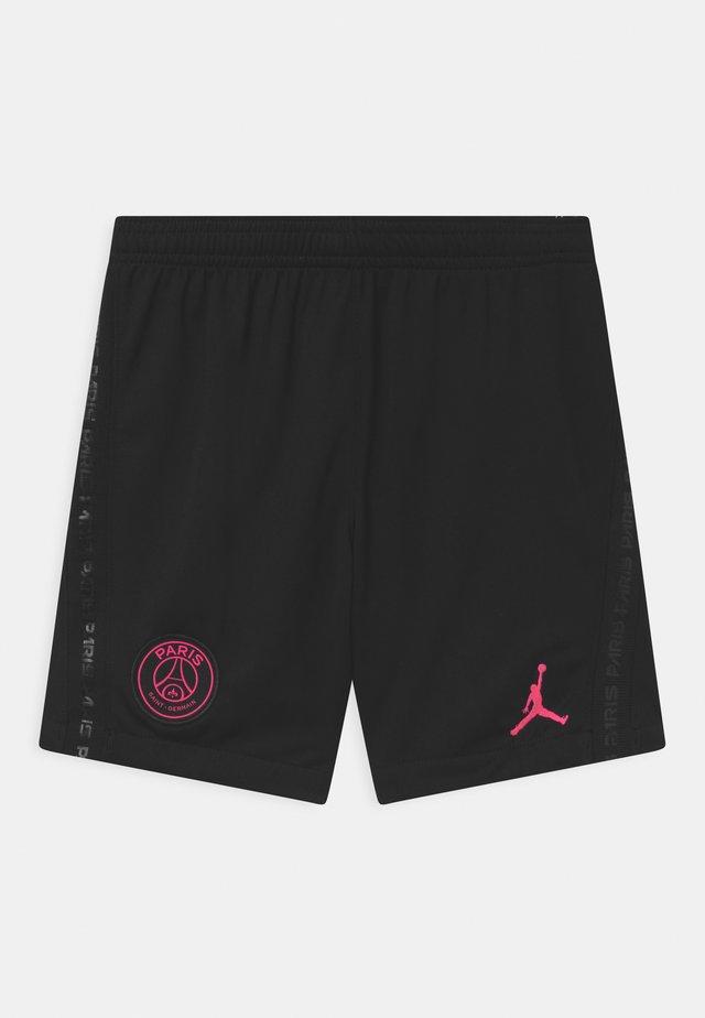 PARIS ST GERMAIN STADIUM UNISEX - Korte broeken - black/hyper pink