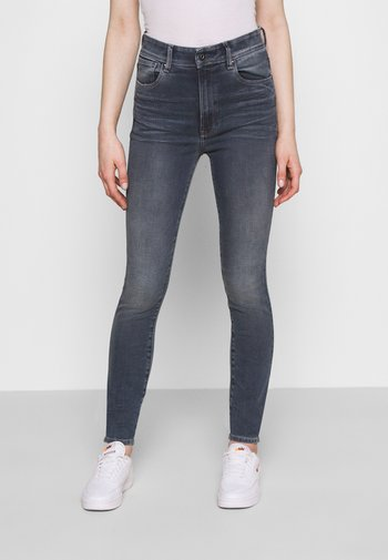 KAFEY ULTRA HIGH SKINNY WMN - Jeans Skinny Fit - stone blue denim