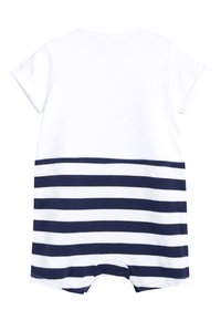 Next - NAVY 3 PACK NAUTICAL BOAT ROMPERS (0MTHS-3YRS) - Jumpsuit - blue - 2