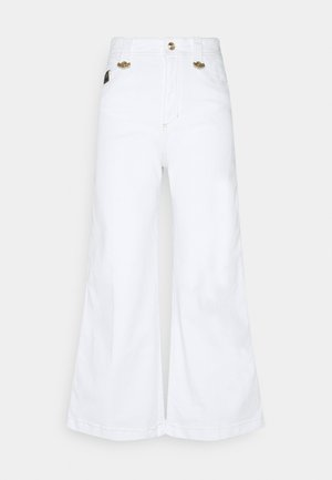 Jeans a zampa - optical white