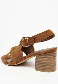 White Sun - MADINA  - Sandals - camel - 2