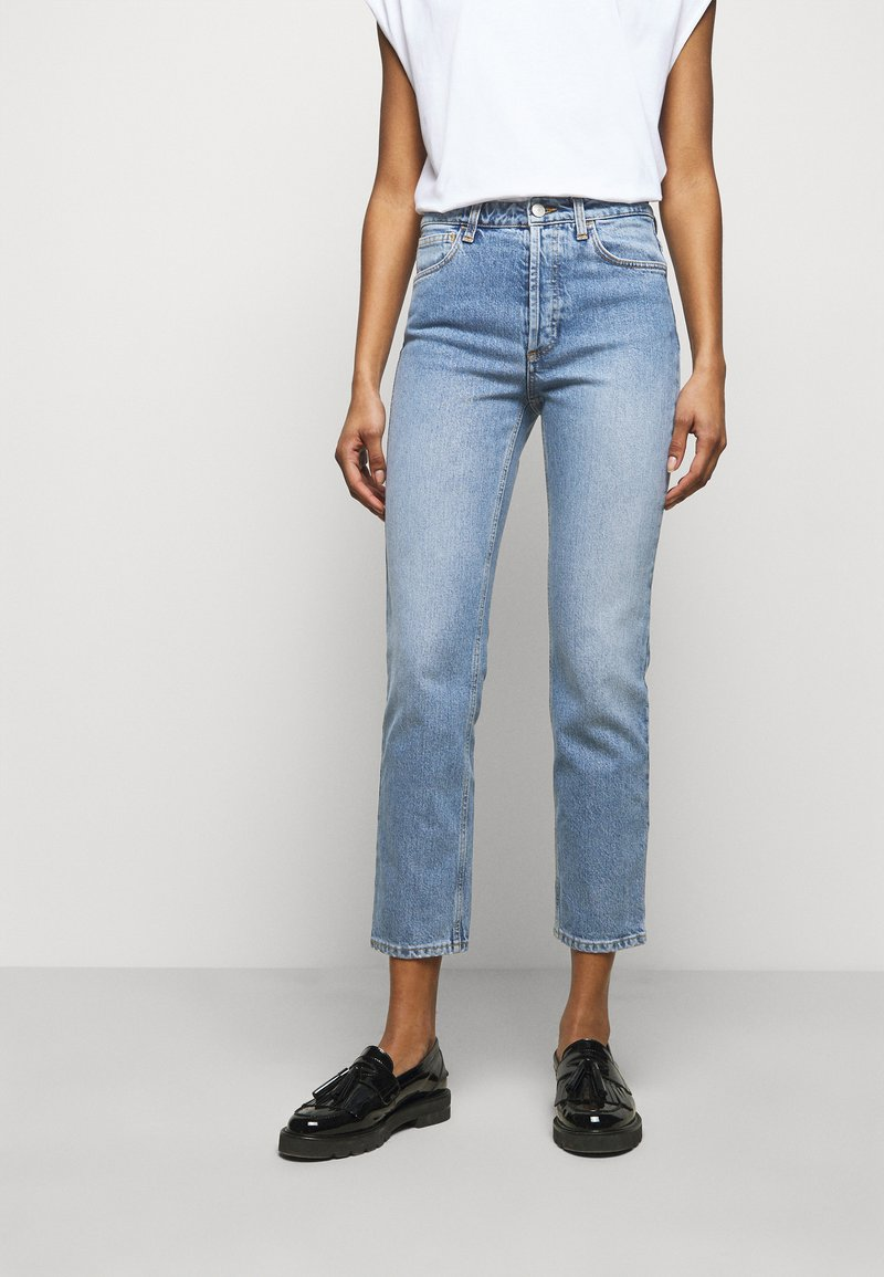 House of Dagmar - DEVINE - Slim fit jeans - light blue