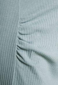 Missguided Maternity - SPLIT SIDE MIDI SKIRT - Pouzdrová sukně - seafoam green - 2