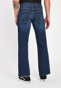Next - WITH STRETCH - Bootcut jeans - blue denim - 1