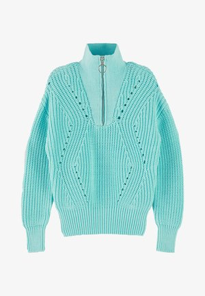 Jumper - light turquoise
