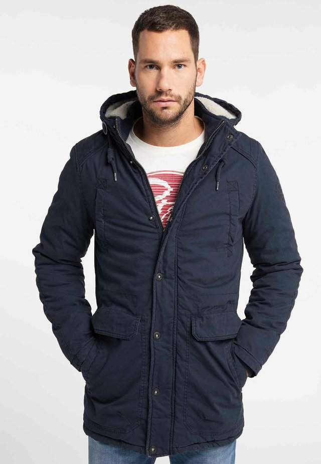 Zimní kabát - deep navy