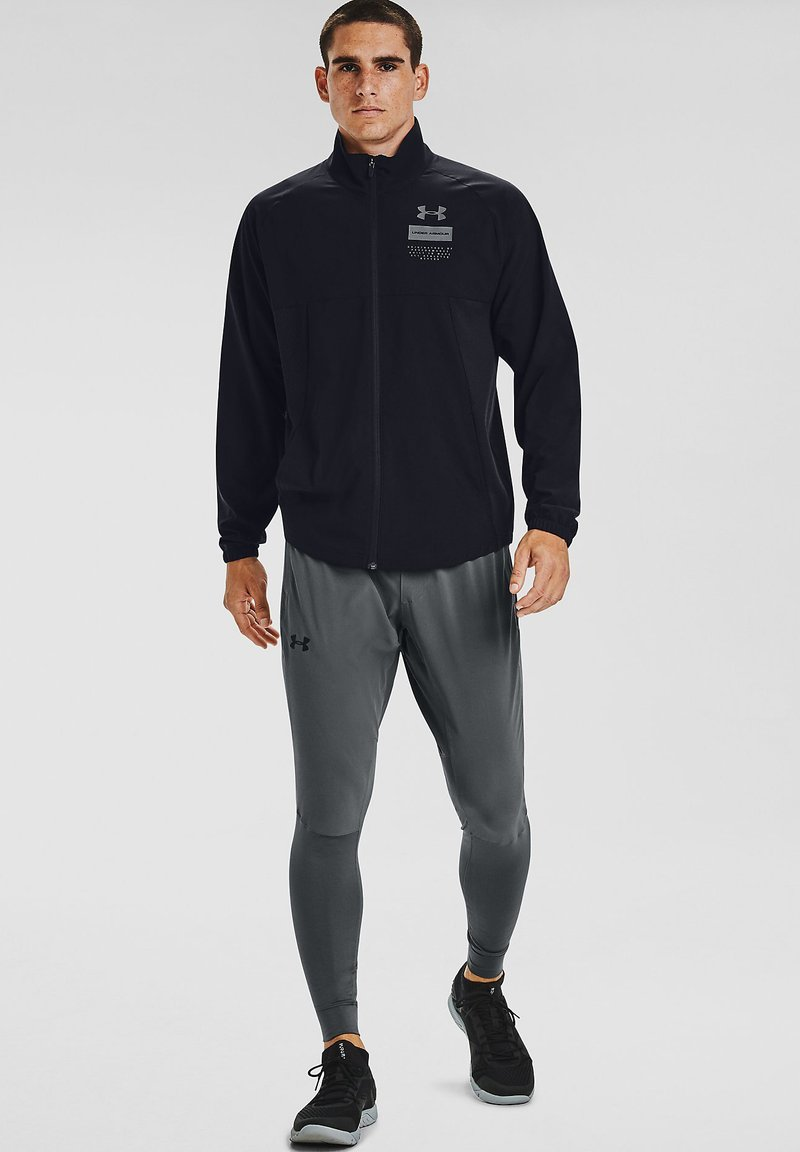Under Armour - SUMMER WOVEN FZ - Training jacket - black