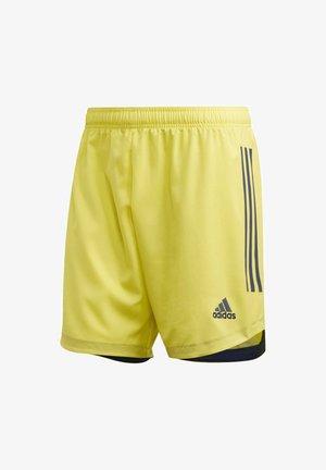 CONDIVO 20 SHORTS - Sports shorts - yellow